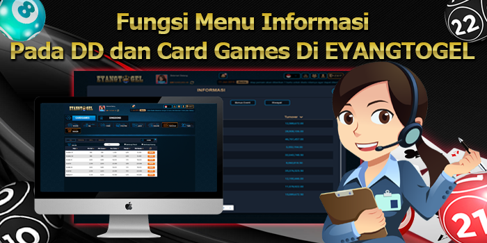 Fungsi Menu Informasi pada DD dan Card Games di Eyangtogel