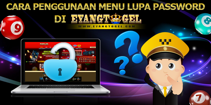 Cara Penggunaan Menu Lupa Password di Eyangtogel